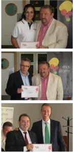 Entrega premios a los ganadores de irdetapaspor Alicante 2ª Edición